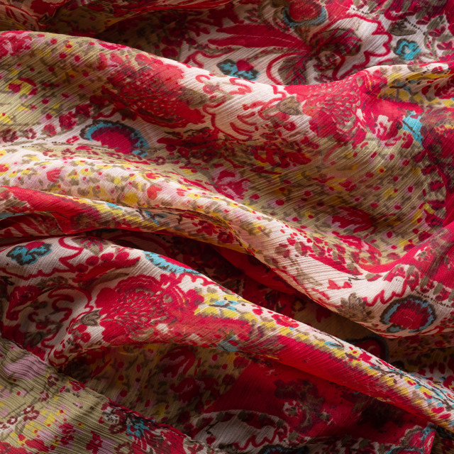"""""""Colorful synthetic fabric texture"""" stock image"""