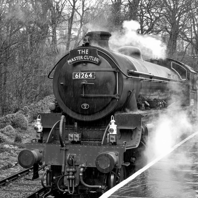 """LNER B1 61624"" stock image"
