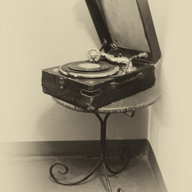"""Vintage sounds #1"" stock image"