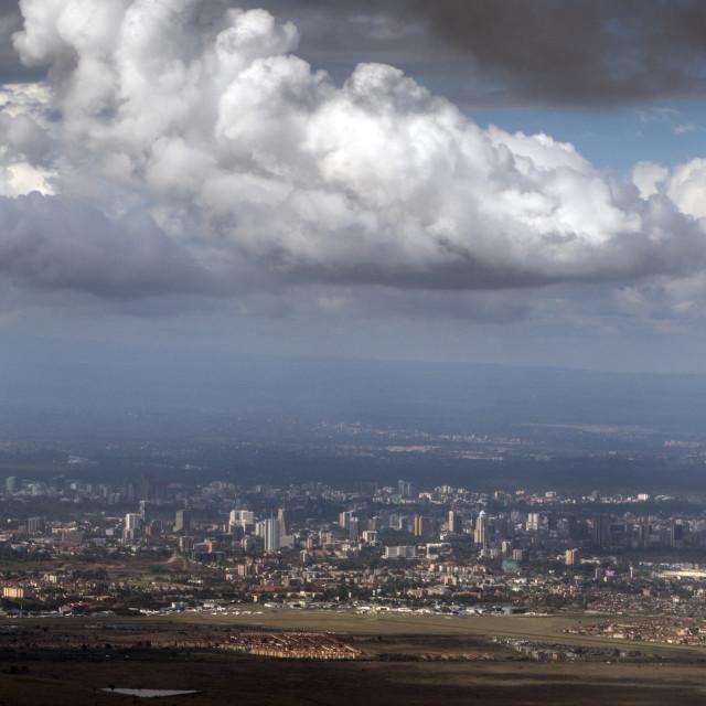 """Nairobi, Kenya"" stock image"