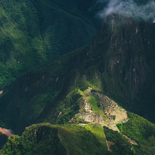 """""""Machu Picchu - Peru"""" stock image"""