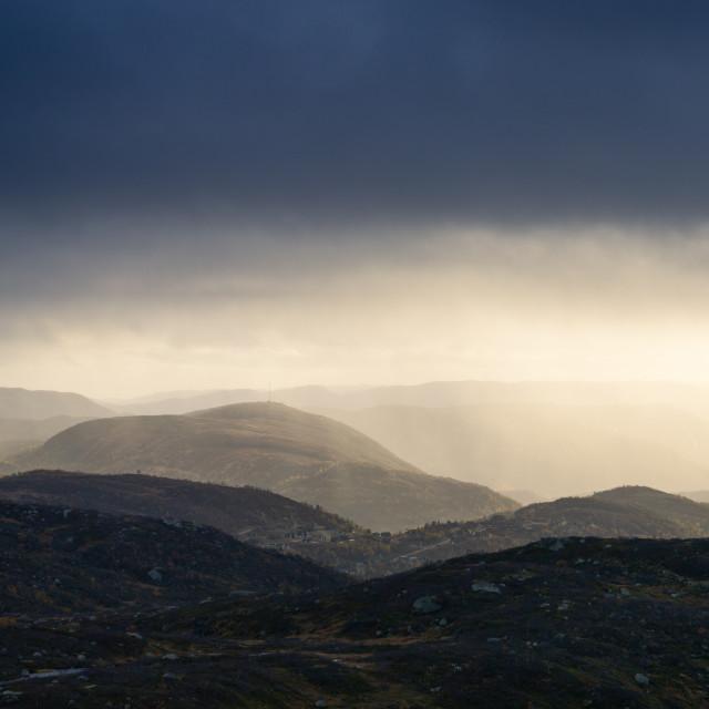 """""""Norwegian Storm"""" stock image"""