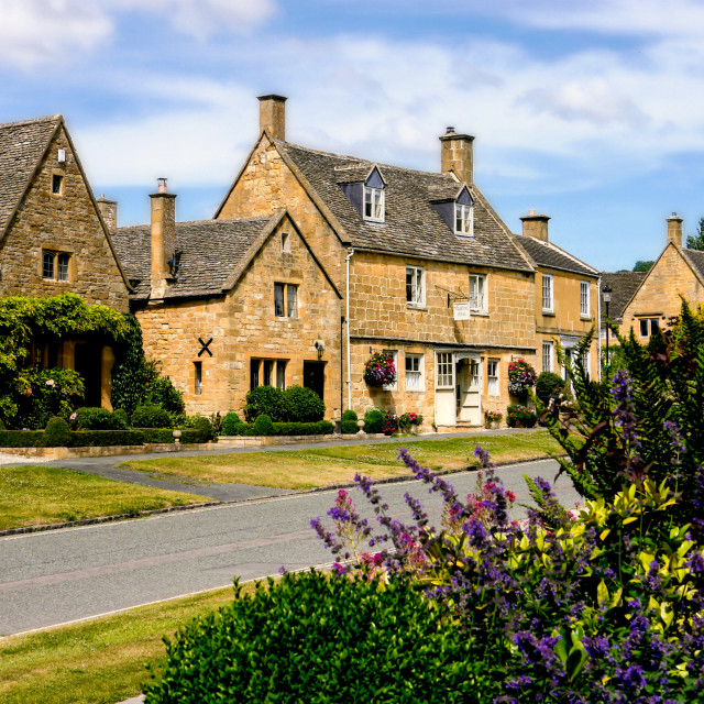 """Cotswold Architecture"" stock image"