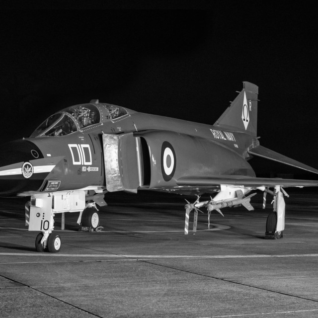 """Royal Navy Phantom"" stock image"
