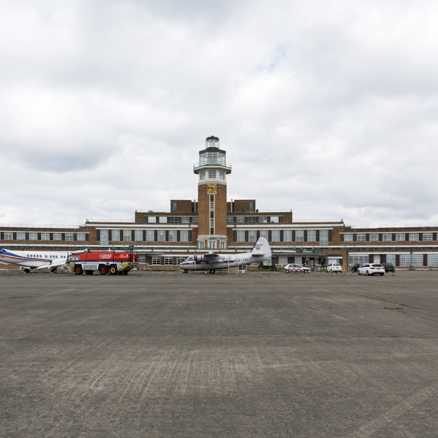 """""""The Old Liverpool Airport"""" stock image"""
