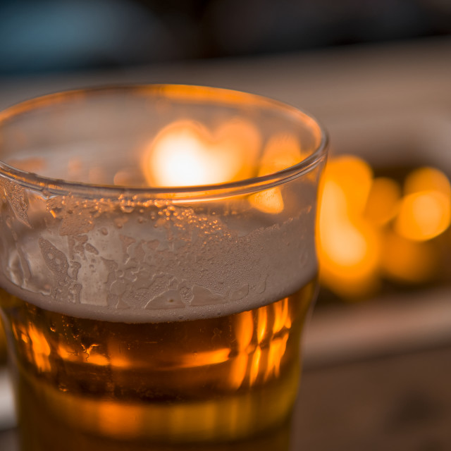 """""""Pint of Beer"""" stock image"""