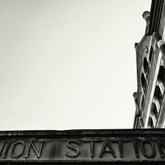 """Montgomery Union Station"" stock image"