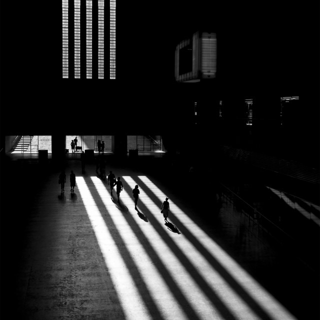 """Tate Modern Light"" stock image"