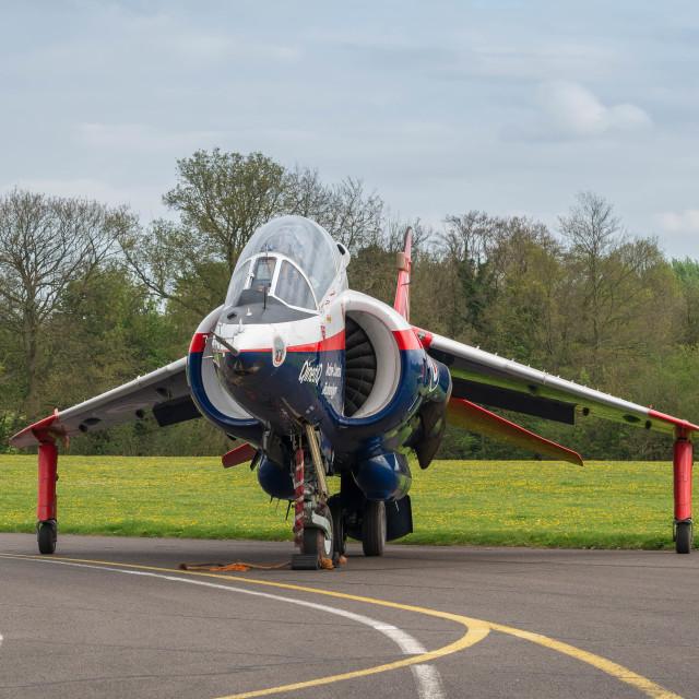 """QinetiQ Harrier XW175"" stock image"