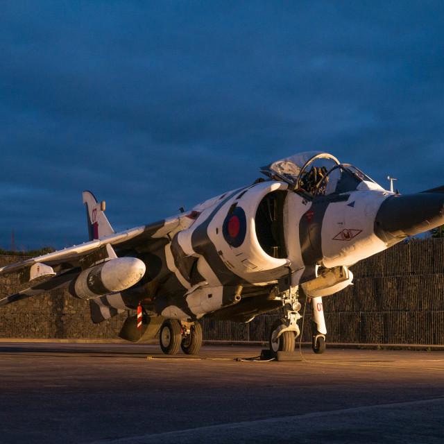 """""""Harrier GR3"""" stock image"""