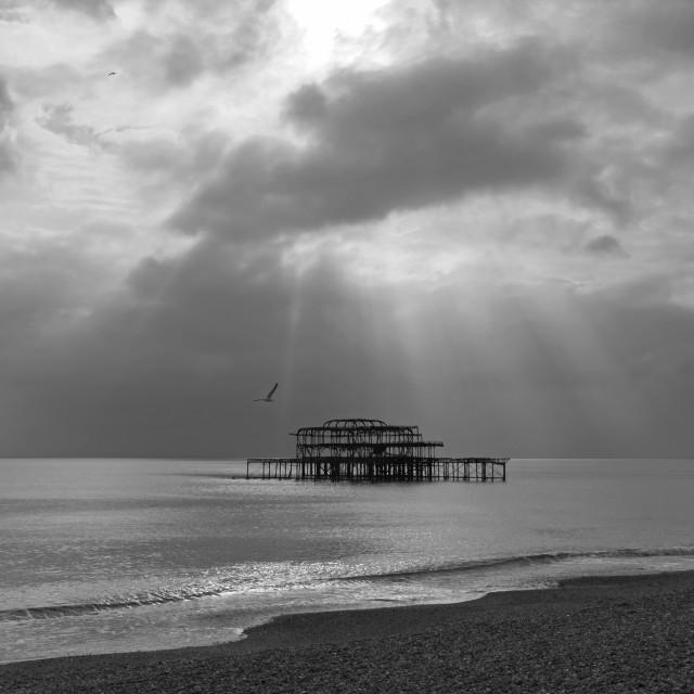 """""""Brighton Pier"""" stock image"""