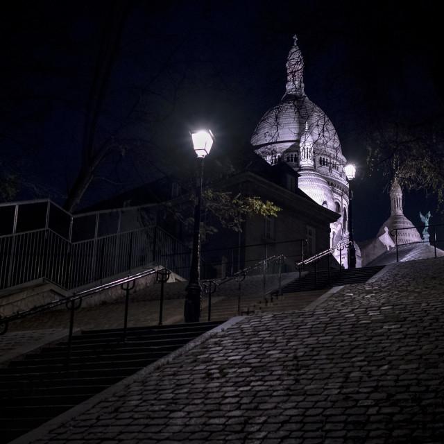 """""""Montmartre, Paris"""" stock image"""