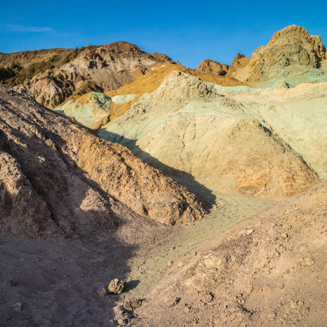 """Mountain Ridges in Death Valley National Park"" stock image"