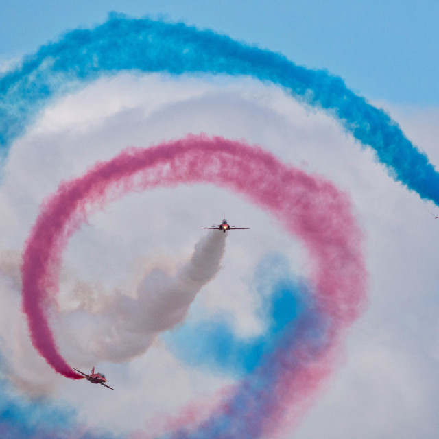 """""""The Red Arrows"""" stock image"""