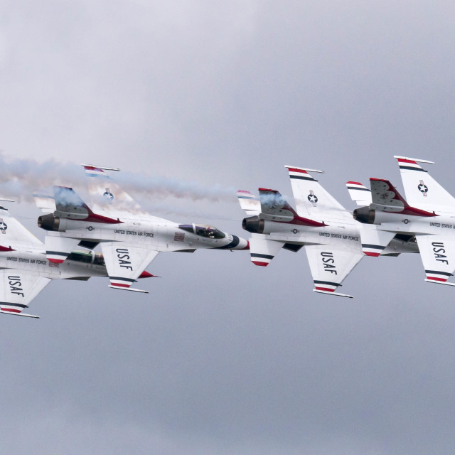 """Thunderbirds"" stock image"