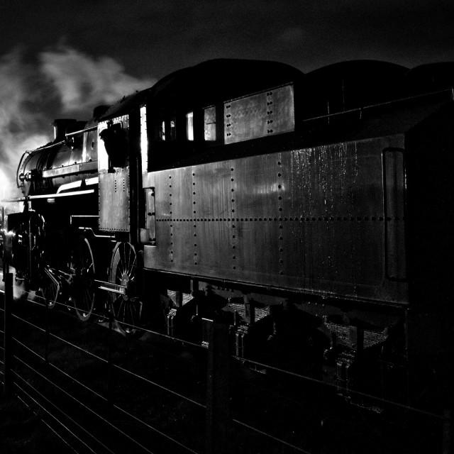 """Ivatt Class 4 No.43106"" stock image"