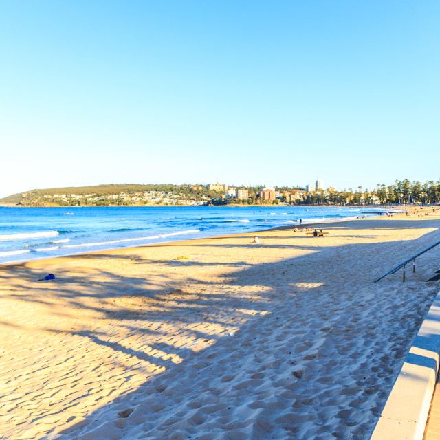 """""""Manly beach"""" stock image"""