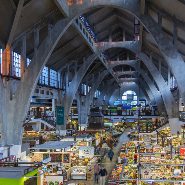 """Wroclaw, PolandThe Market"" stock image"