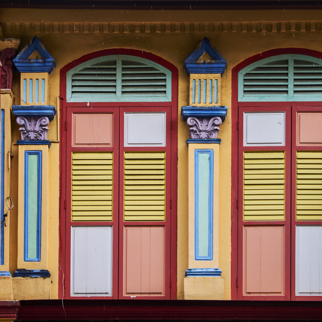 """""""Singapore, Little India district"""" stock image"""