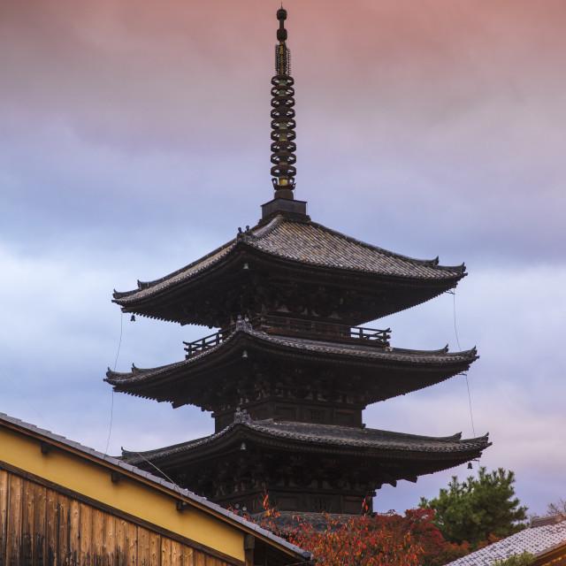 """Japan, Kyoto, Gion, Yasaka Pagoda"" stock image"