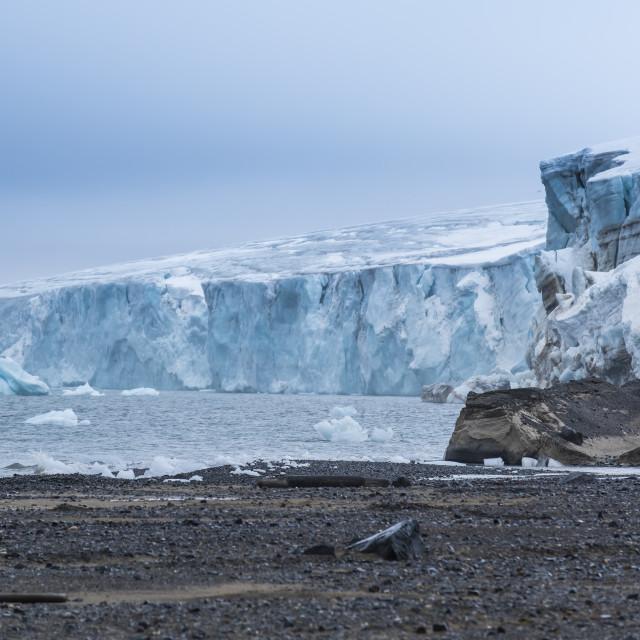 """Champ Island, Franz Josef Land archipelago, Russia"" stock image"