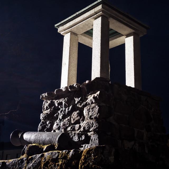 """""""Old War Memorial"""" stock image"""