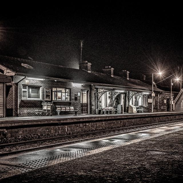 """""""Rustic railway"""" stock image"""