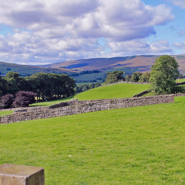 """Dales view"" stock image"