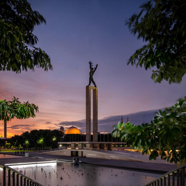 """""""Lapangan Banteng"""" stock image"""
