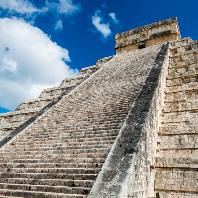 """Chichen Itza Mayan ruins"" stock image"