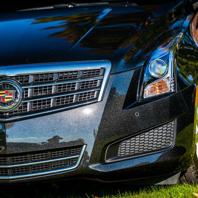 """Black diamond Cadillac ATS"" stock image"