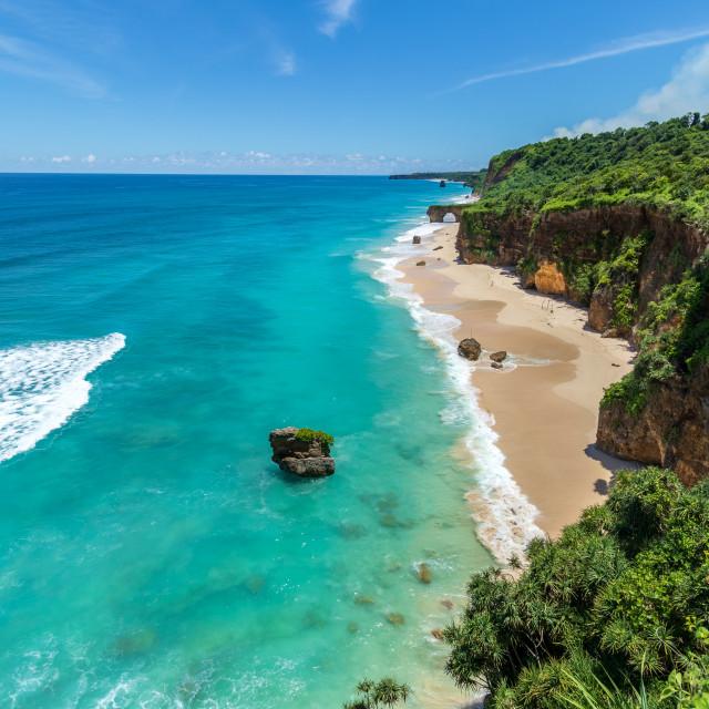"""""""Bawana Beach"""" stock image"""