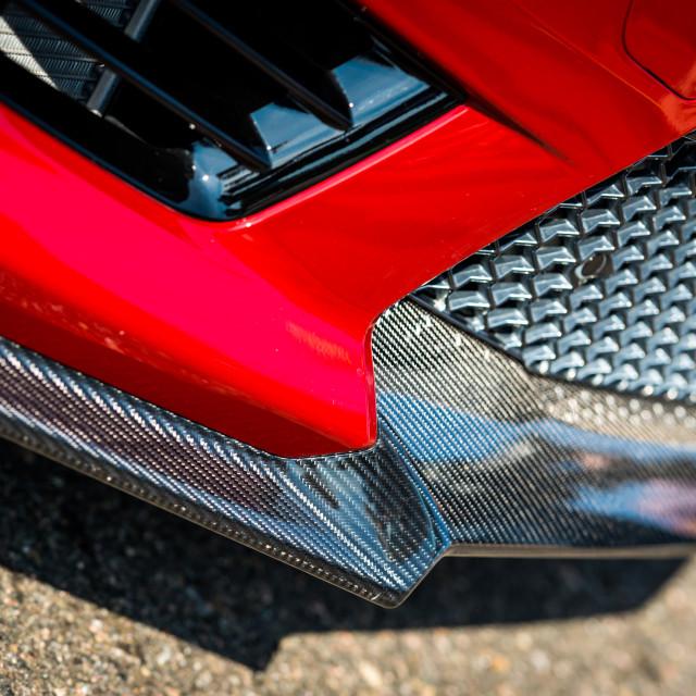 """""""Cadillac ATS-V front end"""" stock image"""