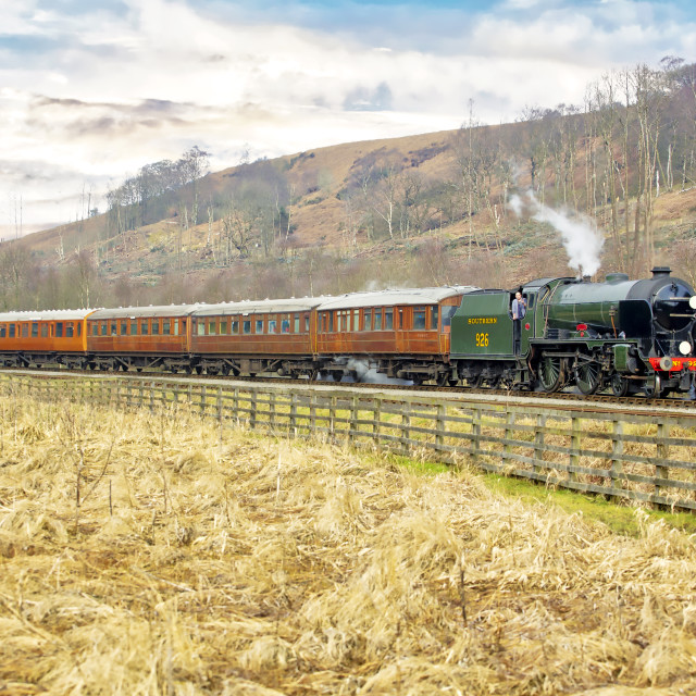 """Repton on North Yorks Moors Railway"" stock image"