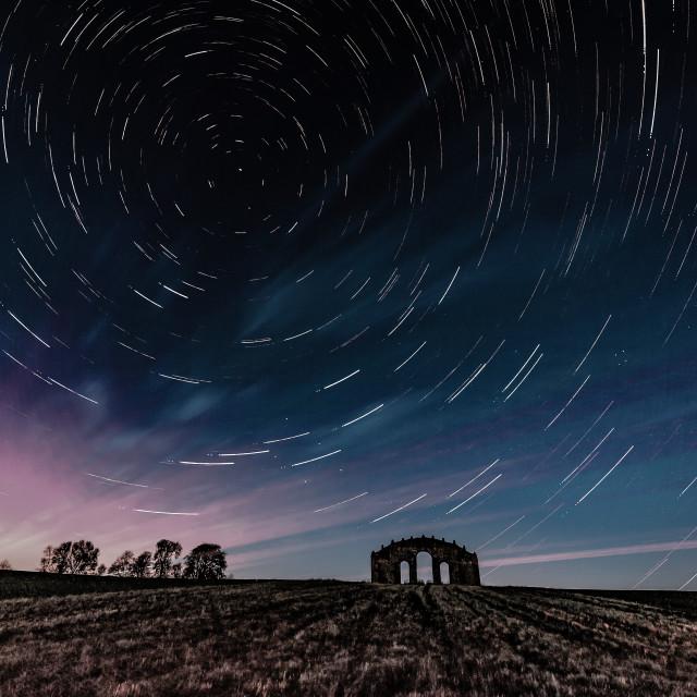 """Eyecatcher Steeple Aston, Oxfordshire."" stock image"