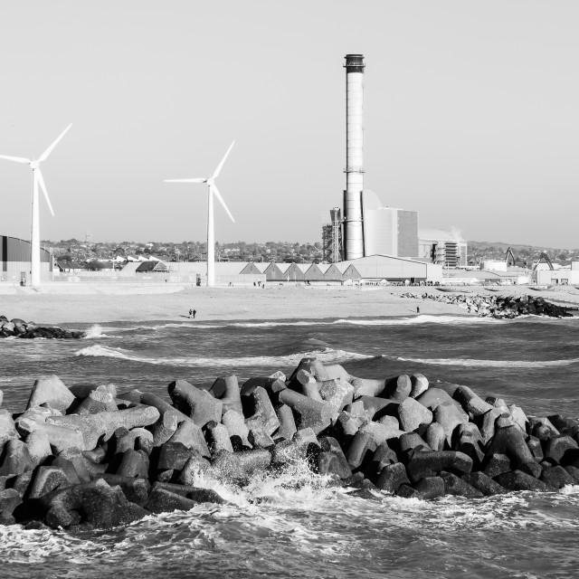 """""""Shoreham Harbour"""" stock image"""