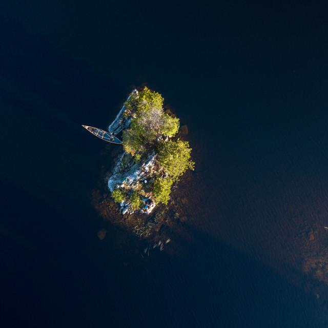"""Remote Island 2"" stock image"