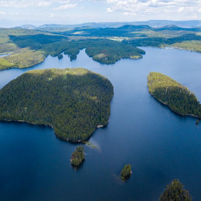 """Mountain Islands"" stock image"