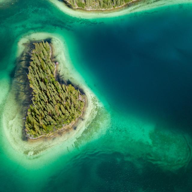 """""""Emerald island"""" stock image"""