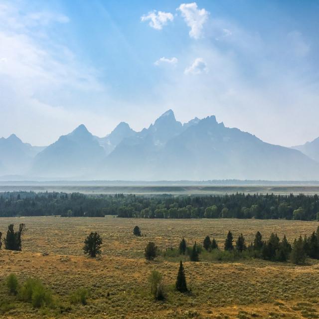 """Mountain vastness"" stock image"