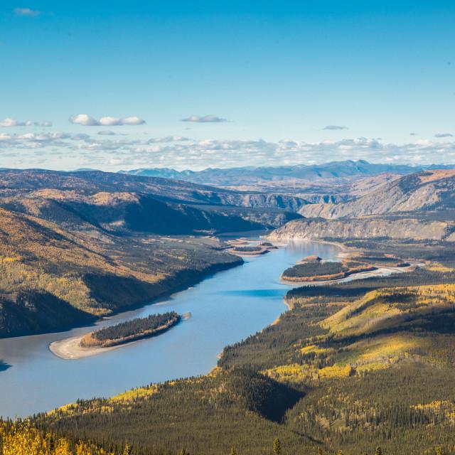 """""""Vast Valley"""" stock image"""