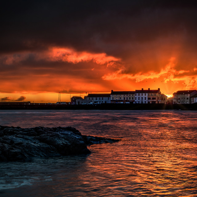 """Donaghadee sunrise"" stock image"