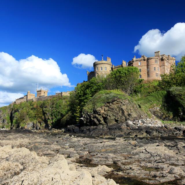 """""""Culzean Castle"""" stock image"""