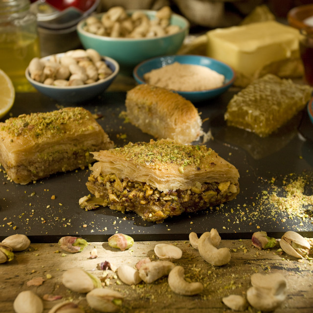 """Baklava ingredients"" stock image"