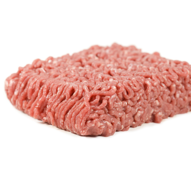 """Minced beef"" stock image"