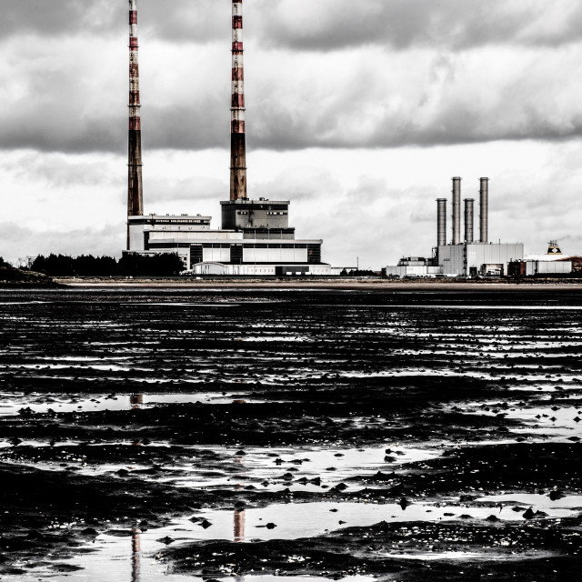 """""""The Two Chimneys"""" stock image"""
