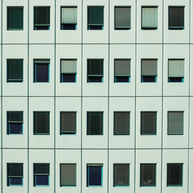 """Rows of windows"" stock image"