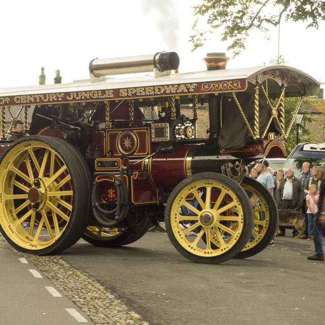 """""""Traction Engine."""" stock image"""