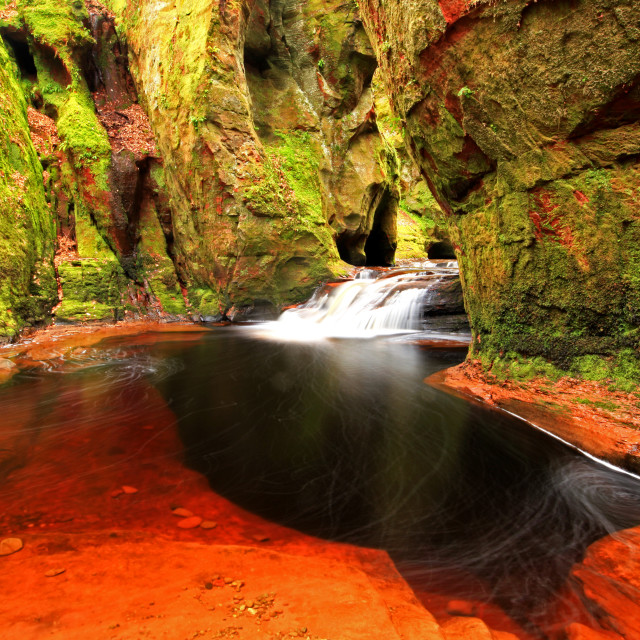 """Finnich Glen, Scotland"" stock image"