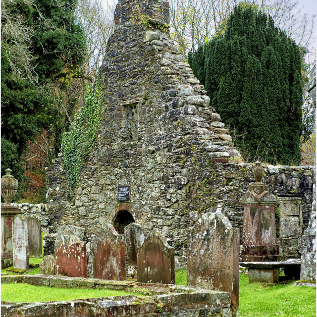 """""""Anworth Kirk Dumfries and Galloway"""" stock image"""